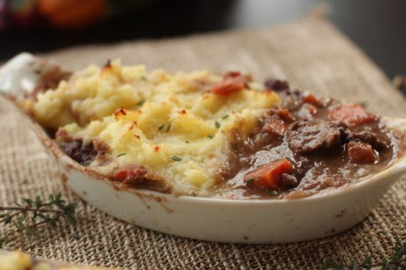 Veal and Beef Stew Shepherd's Pie by Angela Roberts