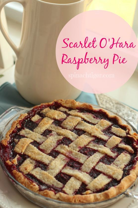 Scarlett O'Hara Raspberry Pie by Angela Roberts