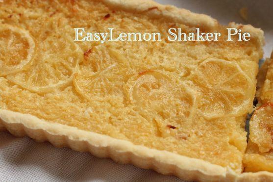Lemon Shaker Pie by Angela Roberts