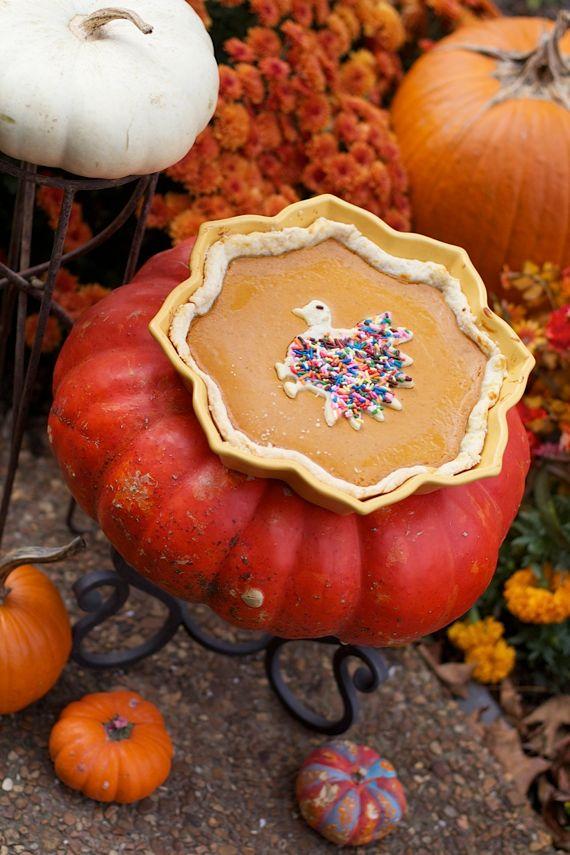 Pumpkin Cream Tart with homemade Pumpkin pie spice by Angela Roberts