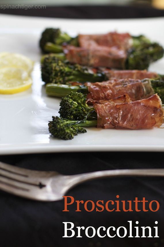 Roasted Broccolini Prosciutto by Angela Roberts