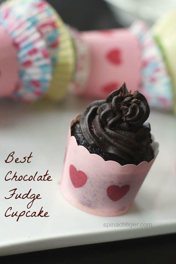 Chocolate Fudge Cupcakes by Angela Roberts