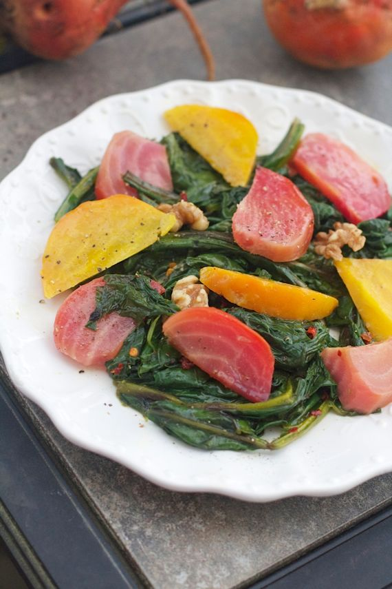 Beet Salad from Spinach Tiger