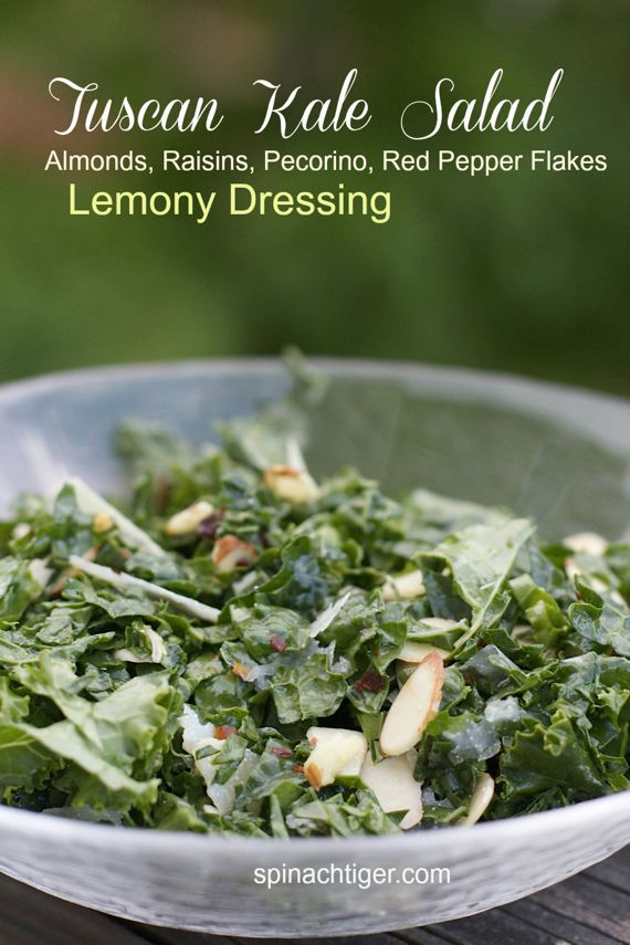 Tuscan Kale Salad by Angela Roberts