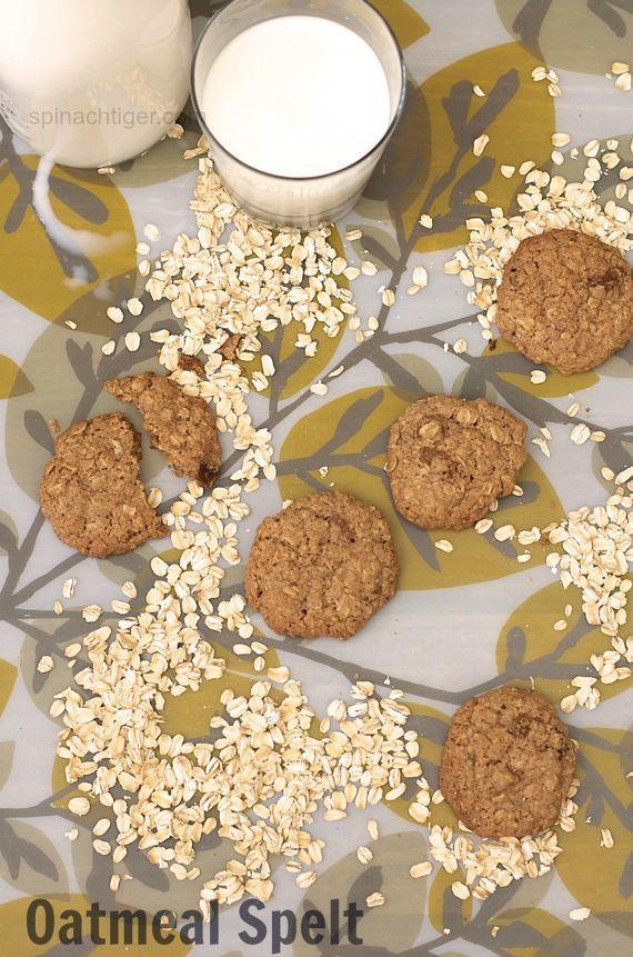 Oatmeal Spelt Cookies by Angela Roberts