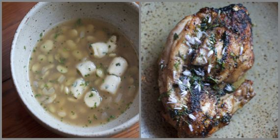 chicken & dumplings at Husk by Angela Roberts