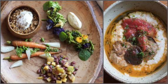 Vegetarian Plate at Husk Nashville by Angela Roberts