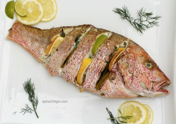 Grilling a Whole Fish 3 by Angela Roberts