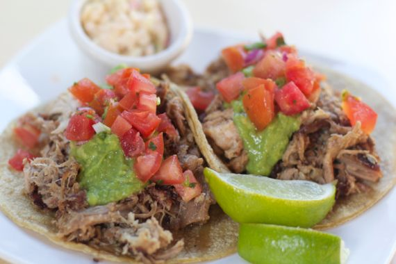Carnitas Tacos at Carnitas' Snack Shack by Angela Roberts