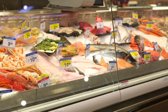Seafood at Kroger Marketplace in Franklin by Angela Roberts