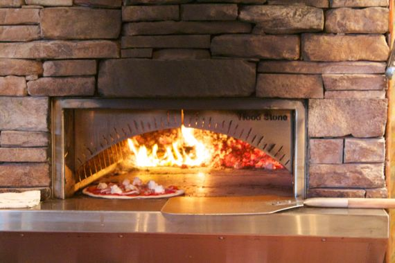 Lockeland Table Pizza Oven by Angela Roberts