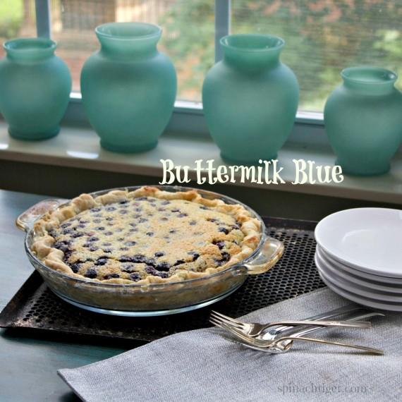 Buttermilk Bluberry Pie 2 by Angela Roberts