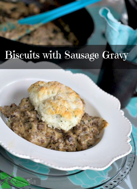 biscuits with sausage gravy by Angela Roberts