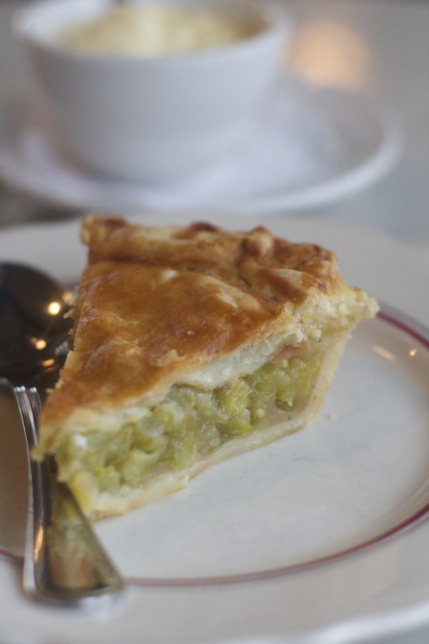 Tomato PIe at Marche in East Nashville by Angela Roberts