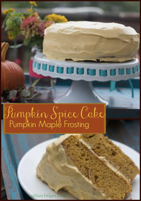 Pumpkin Spice Cake Recipe with Homemade Pumpkin Pie Spice by Angela Roberts