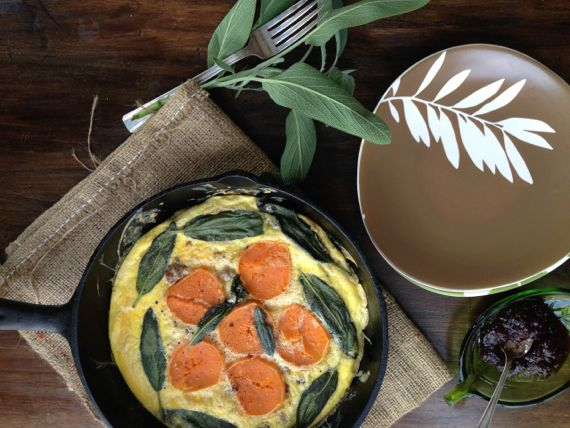Sweet Potato Breakfast Frittata by Angela Roberts