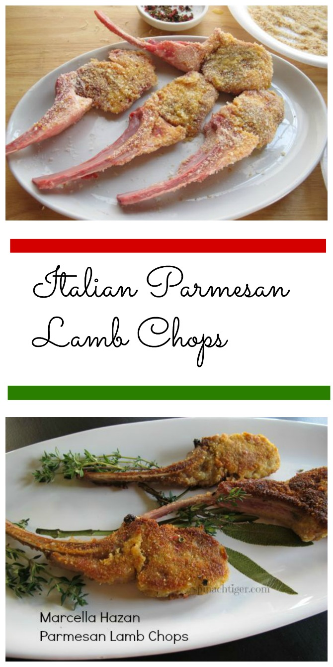 Parmesan Crusted Lamb Chops by Spinach Tiger