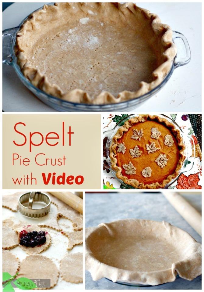 Spelt Pie Crust by Angela Roberts