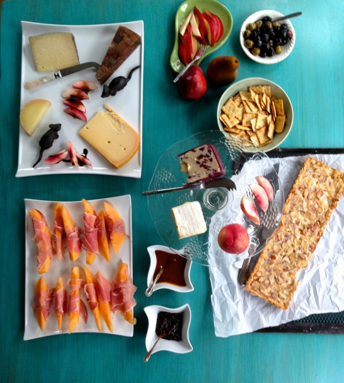 How to build a Cheese Platter by angela roberts