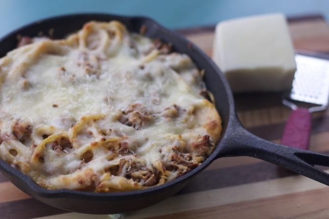 spaghetti pie recipe by angela roberts