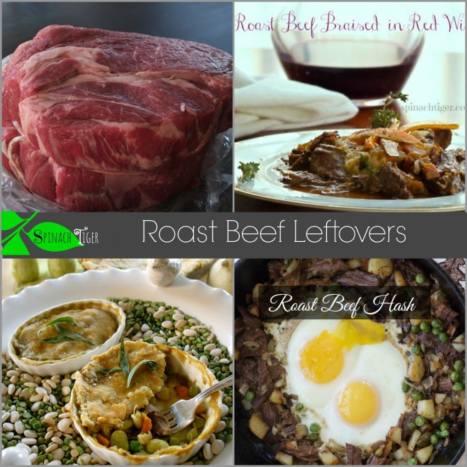 What to do with Left over Roast Beef. #easydinners #leftovers #spinachtiger #roastbeefrecipes via @angelaroberts
