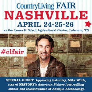 Mike Wolfe at the Country Living Fair by Angela Roberts