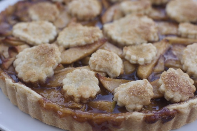 Apple Tart Closeup