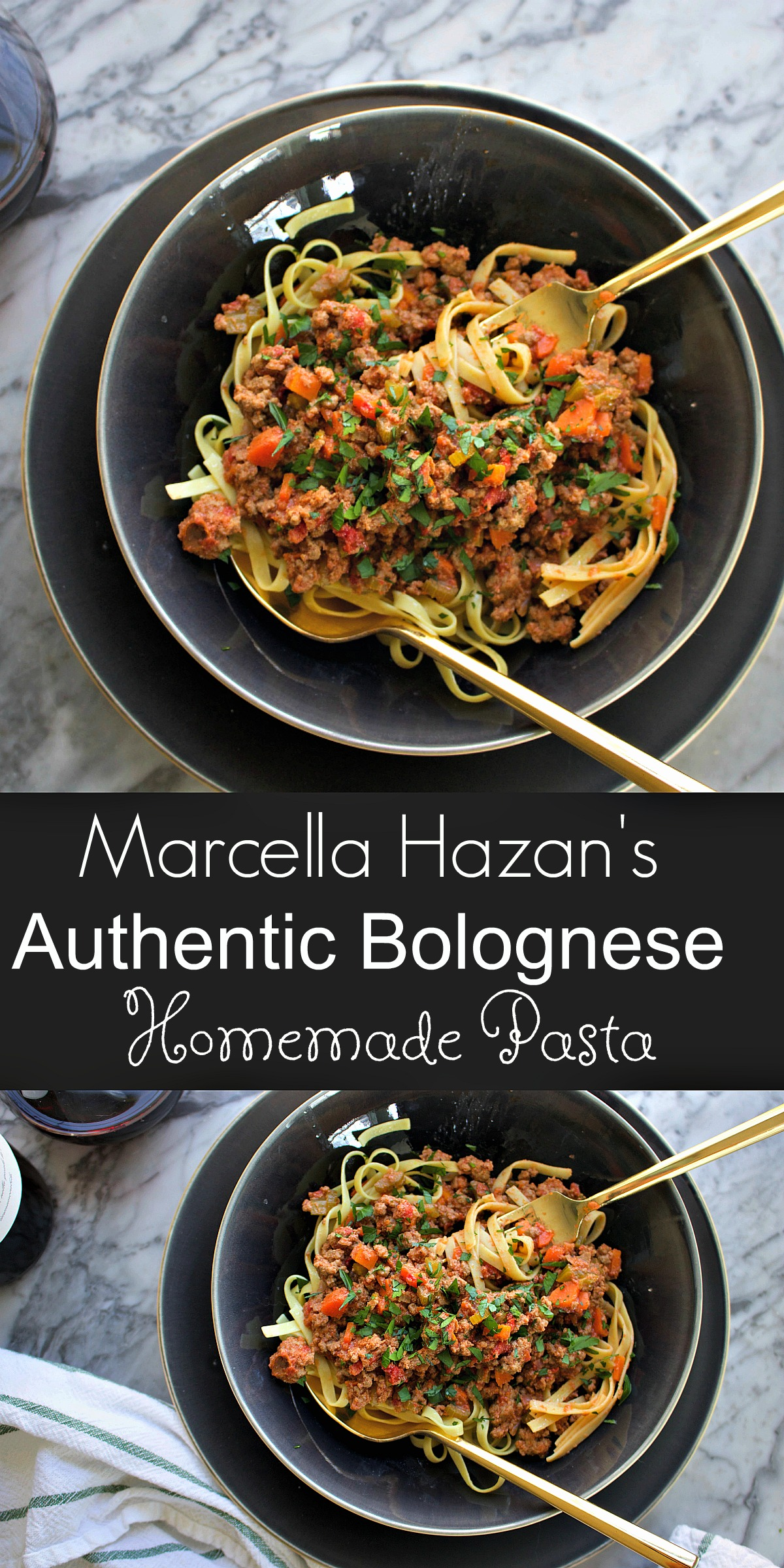 Marcella Hazan's Authentic Bolognese from Spinach Tiger