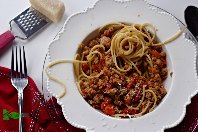 Veal Bolognese by Spinach Tiger