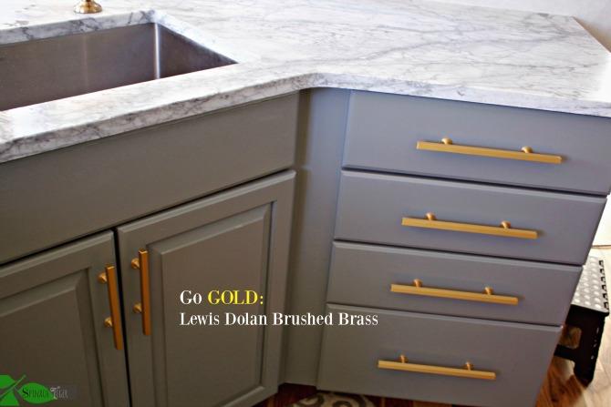 Lewis Dolan Brushed Brass