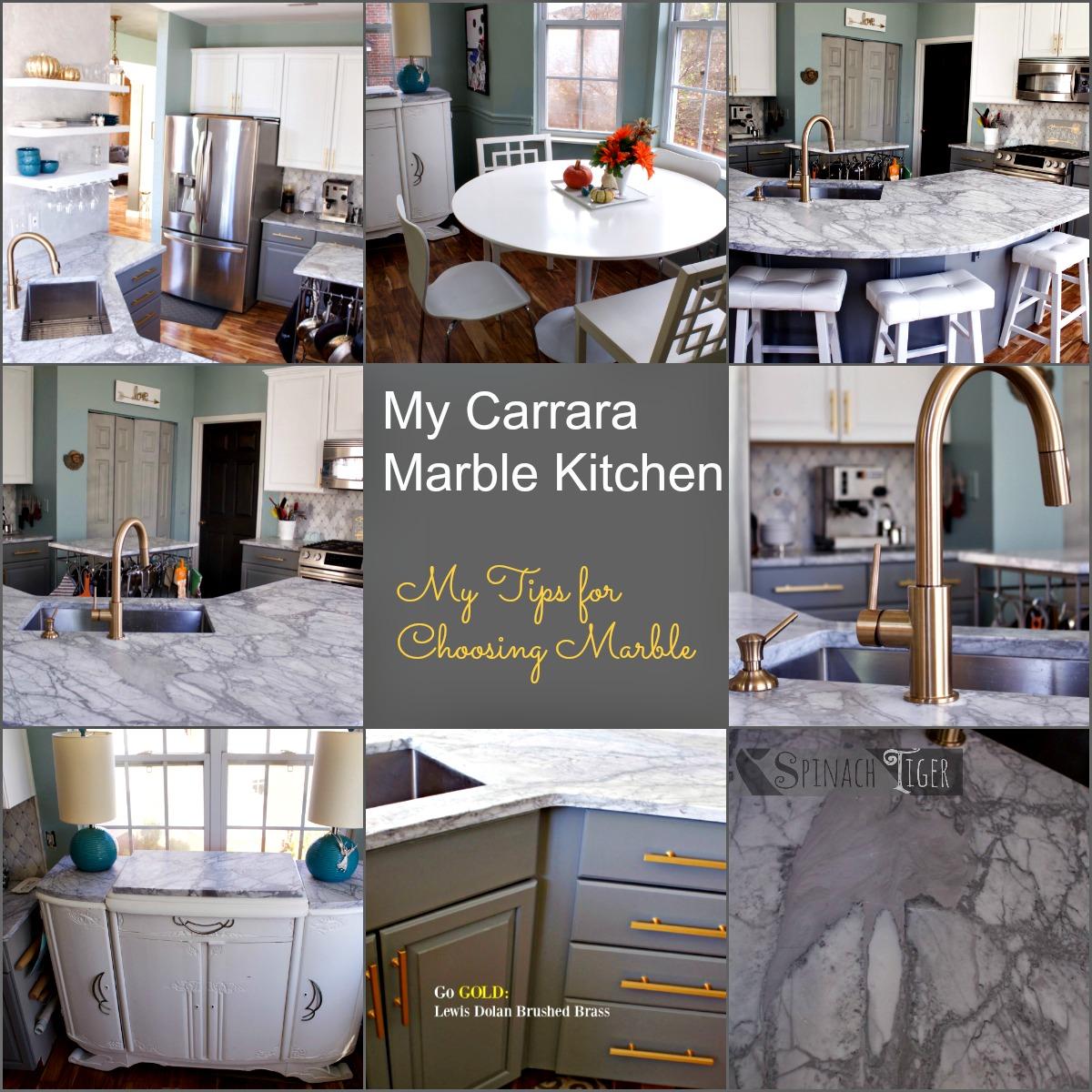 My Carrara Marble