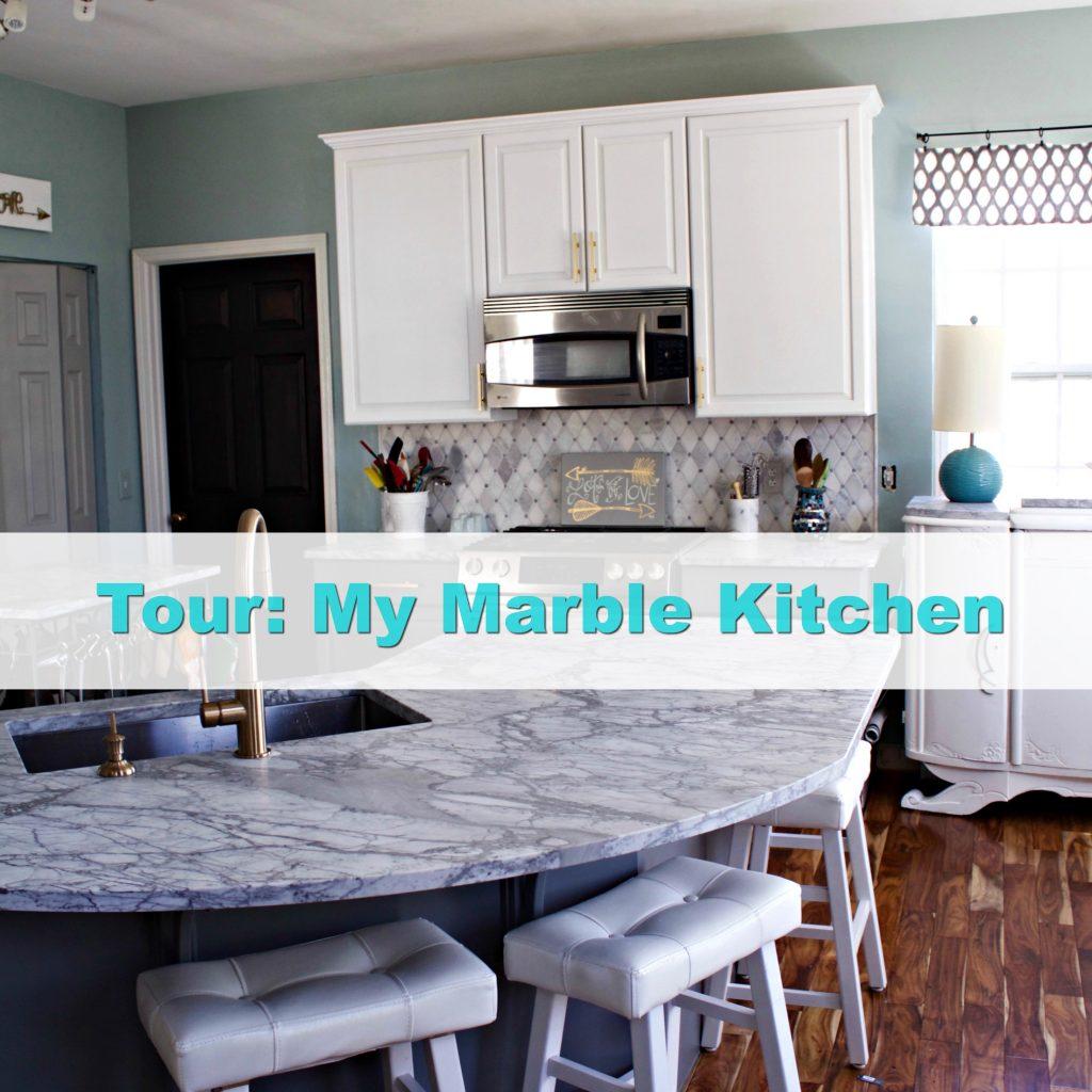 tour-kitchen Carrara Marble Kitchen