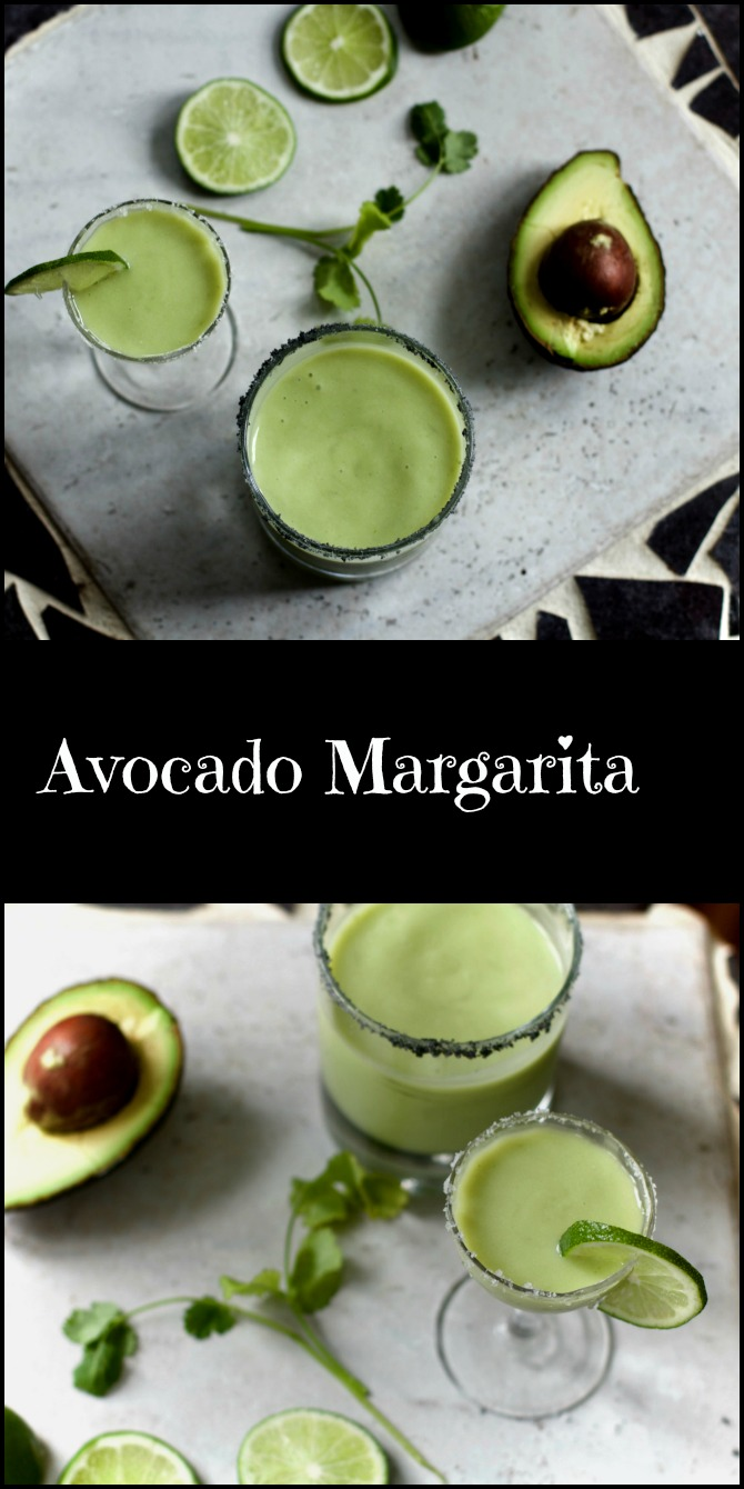 Avocado Margarita with fresh citrus from Spinach TIger #margarita
