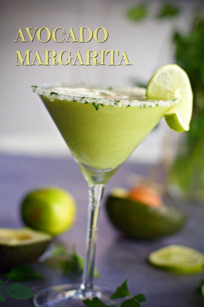 AVOCADO MARGARITA from Spinach TIger