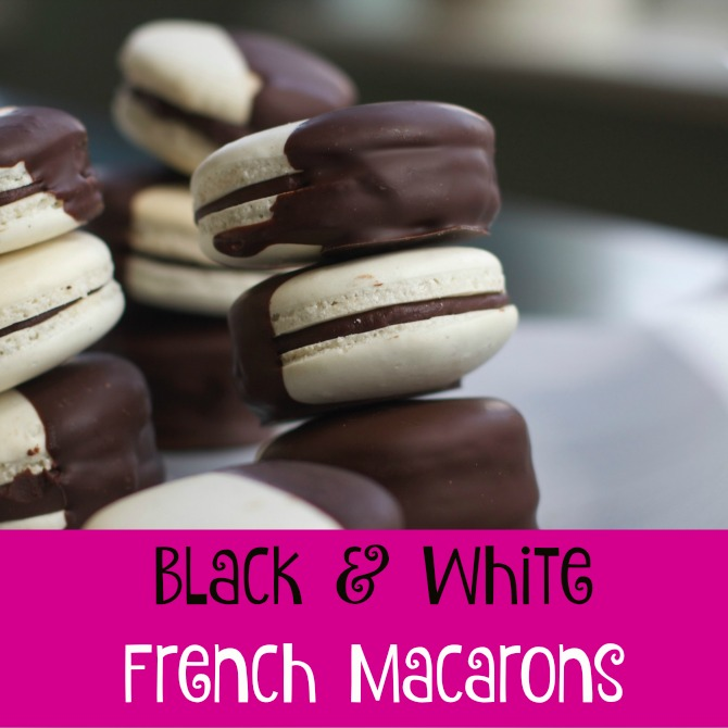 French Macarons Recipe from Spinach Tiger