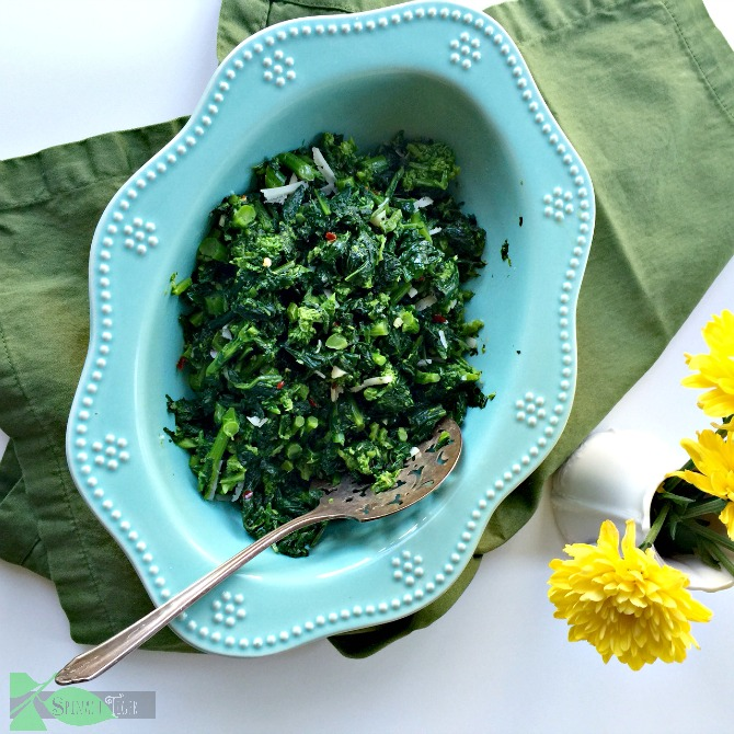 The Best Broccoli Rabe Recipe from Spinach Tiger