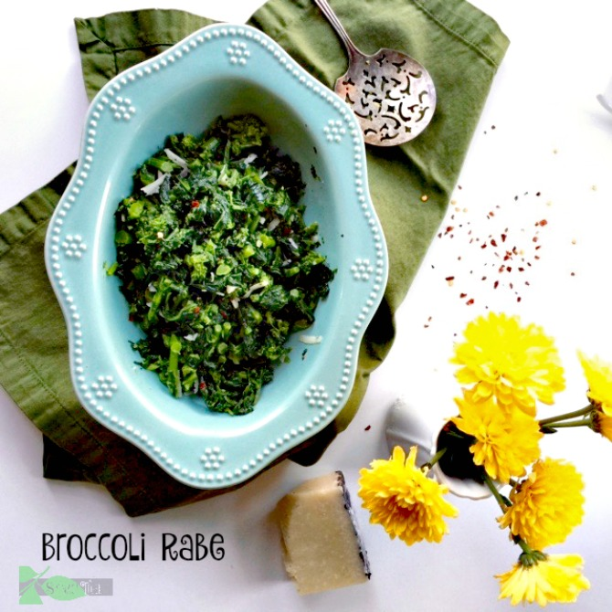 Broccoli Rabe: Easy Healthy Recipes from Spinach Tiger
