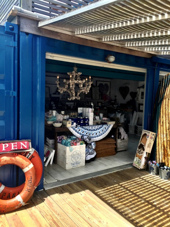 Gift Shop at the Gulf in Gulf Shores by Angela Roberts