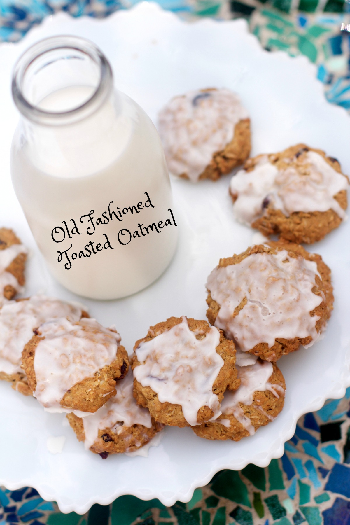 Gluten Free Oatmeal Cookies Recipe from Spinach Tiger
