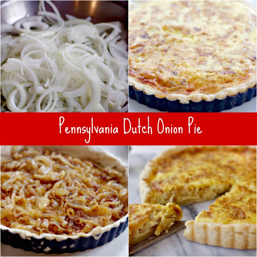 How to Make Pennsylvania Dutch Onion Pie from Spinach Tiger