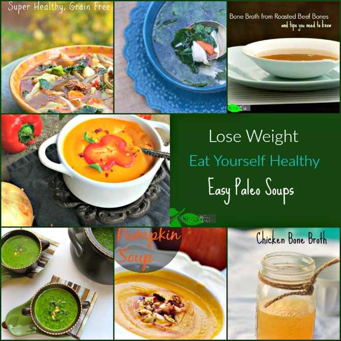 Easy Lose Weight Paleo Soups by Spinach Tiger