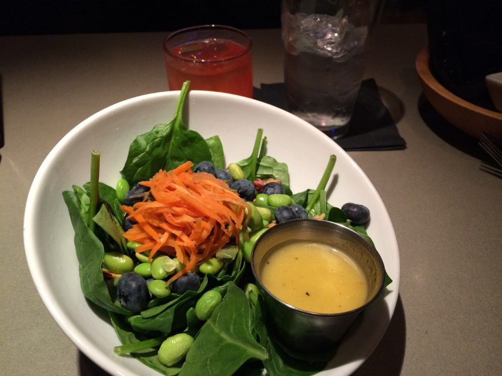 Super Food Salad at Azur Restaurant