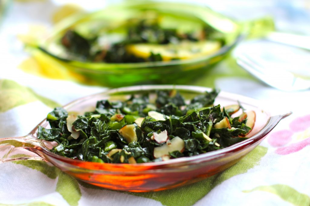 Tuscan Kale Salad for National Kale Day by Angela Roberts