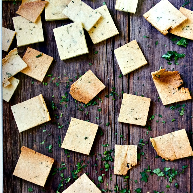 Paleo Crackers on Mediterranean Paleo Cooking Cookbook Review by Angela Roberts
