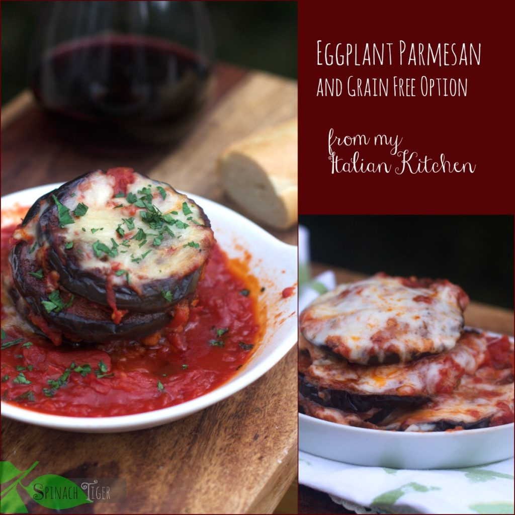 How to Make Baked Eggplant Parmesan Recipe by Spinach TIger
