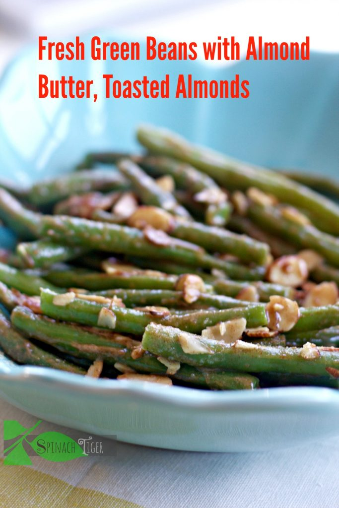 Fresh Green Bean Recipes, Green Beans Almondine from Spinach Tiger