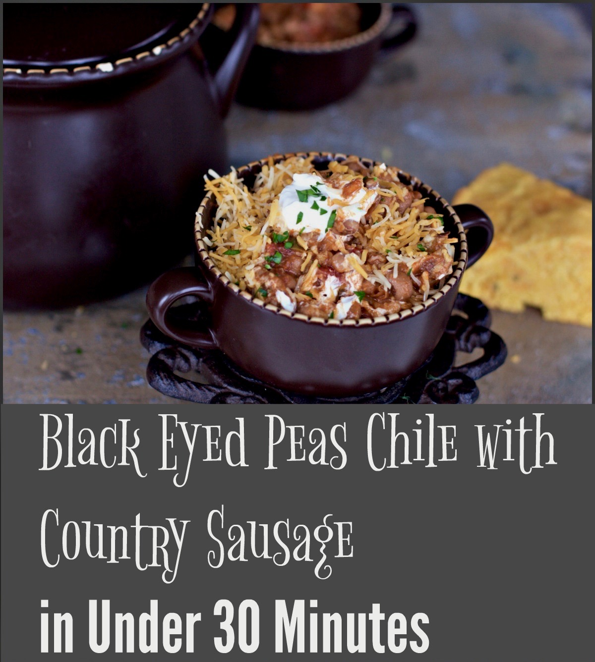 Bean Soup Recipes with Black Eyed Peas and More from Spinach TIger
