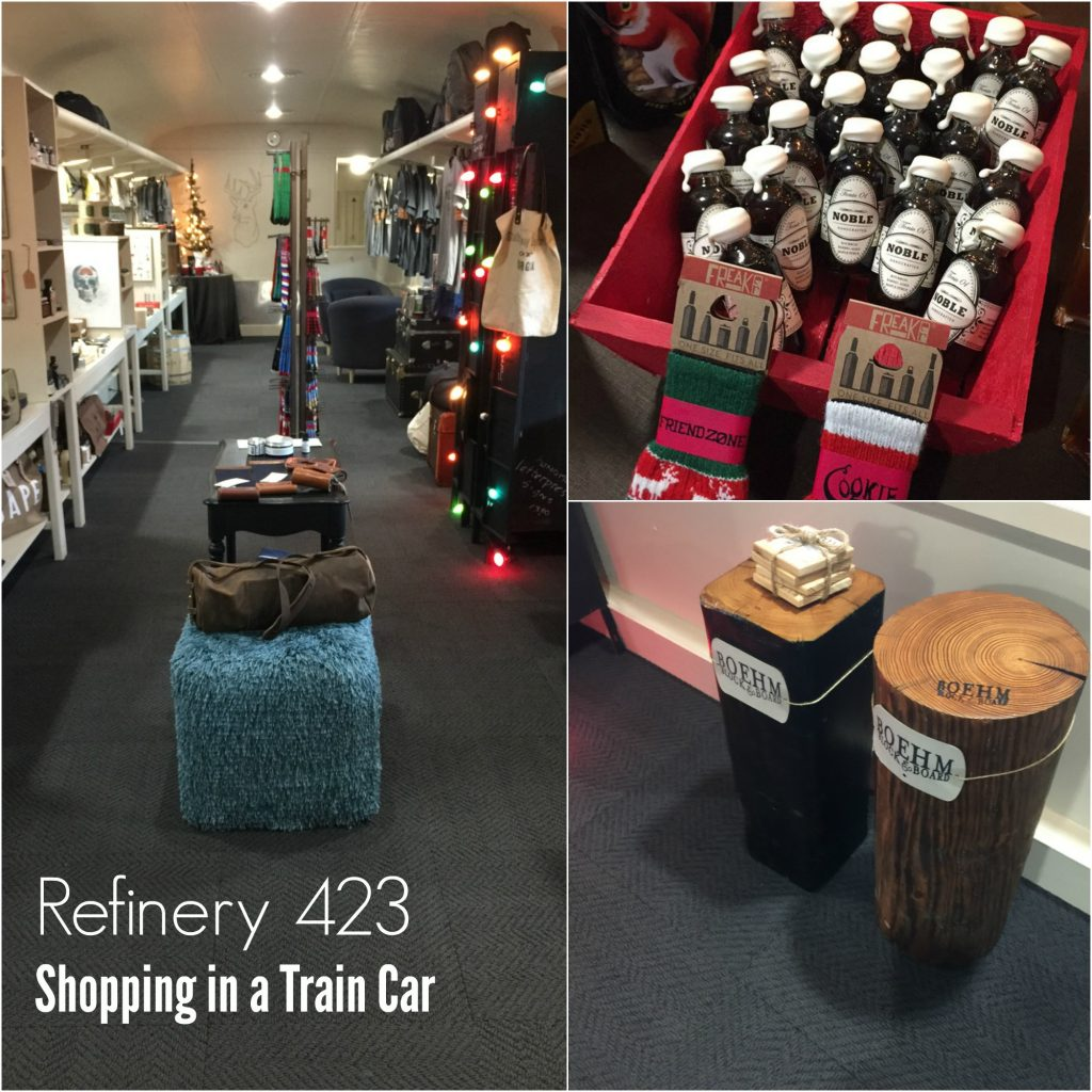 Revelry 423 Shopping at the Chattanooga Choo Choo Hotel from Spinach Tiger