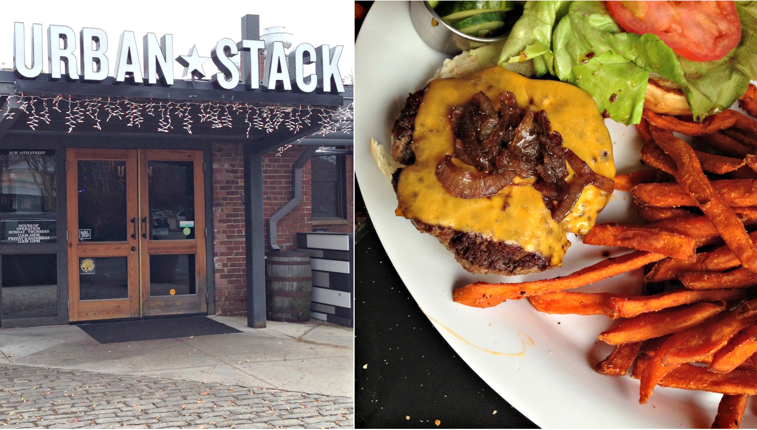 Urban Stack in Chattanooga from Spinach Tiger