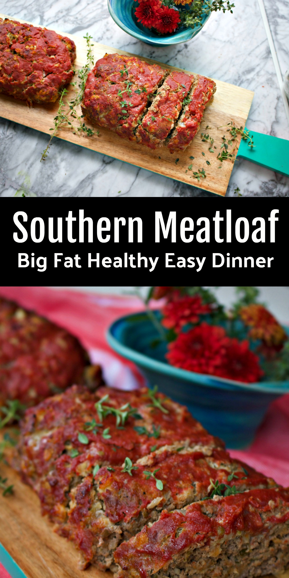 Southern Meatloaf made with sauteed veggies, oats and is old family recipe. Makes great leftovers too. via @angelaroberts